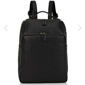 NWOT Barney's leather backpack